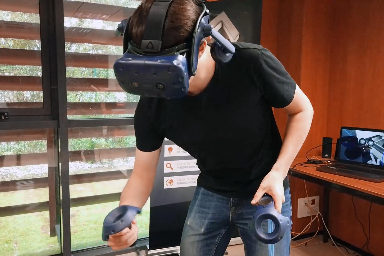 VR-training-system